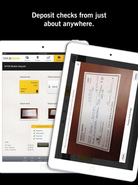 NYCB Mobile for iPad screenshot-3