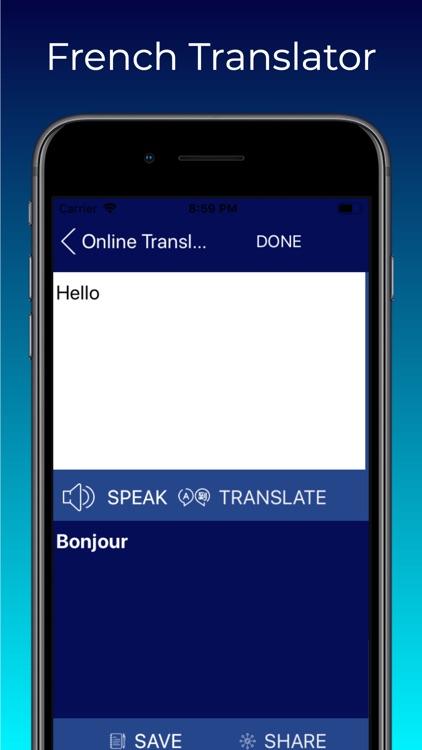 English to French Translate screenshot-3