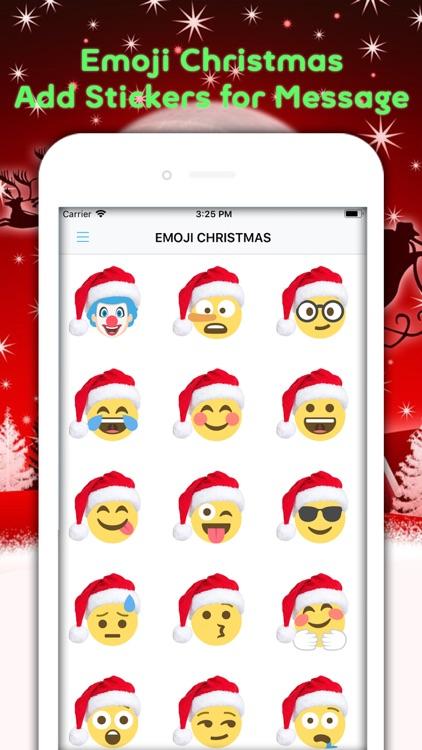 Christmas Emojis & Animated screenshot-4