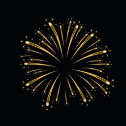 Animated Fireworks Emojis