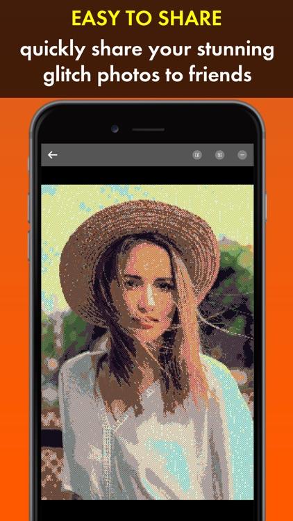 Glitch Art Photo Maker screenshot-4