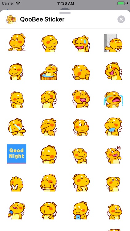 QooBee Sticker