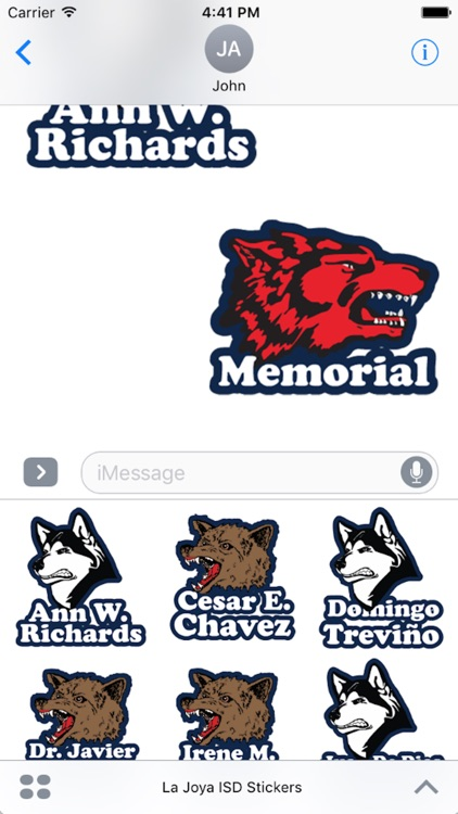 La Joya ISD Stickers