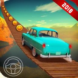 Stunt Car Bridge Games trail