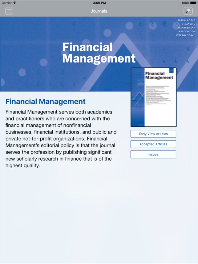 Financial Management App on the App Store