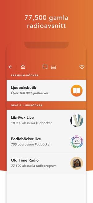 Gratis ljudböcker svenska iphone