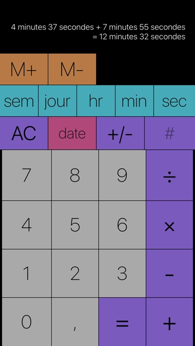 Screenshot #1 pour Tabi Calc