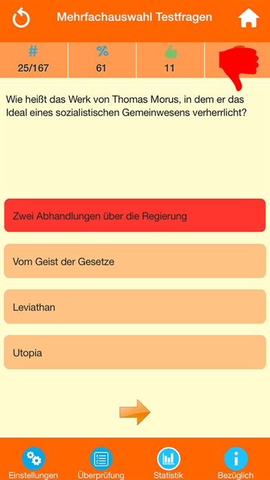 Der Philosophie Wissenstest screenshot 3