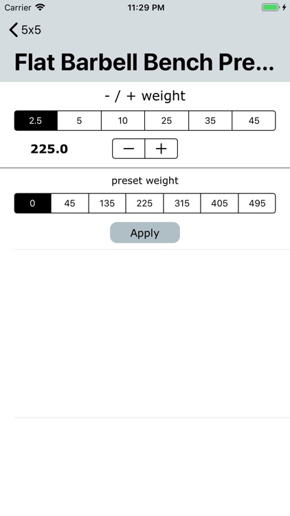 Workout Note screenshot-3
