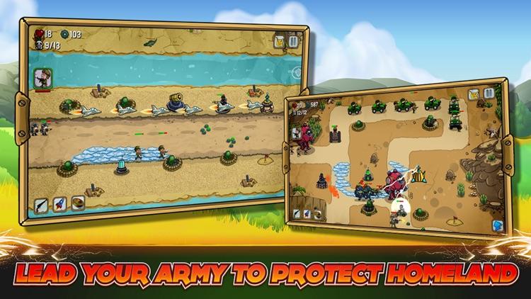 Tower Defense: Modern War PRO screenshot-4