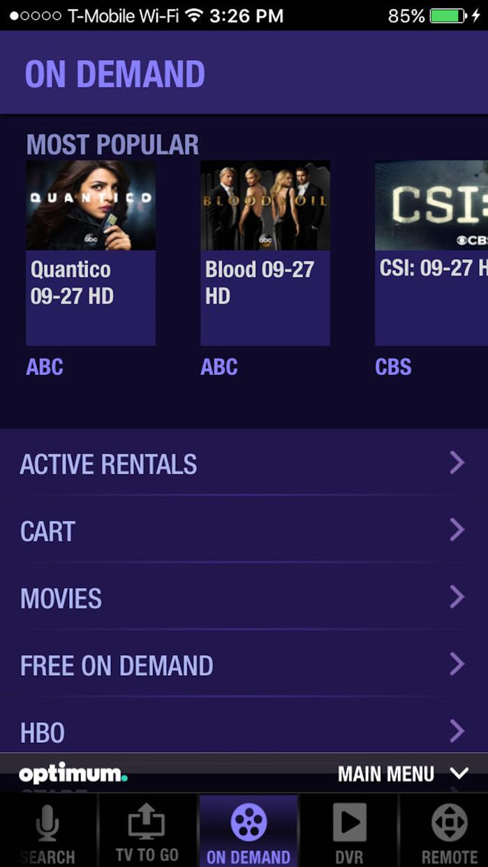 Optimum Screenshot