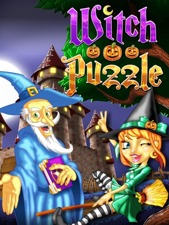 Игра Witch Puzzle игры головоломки