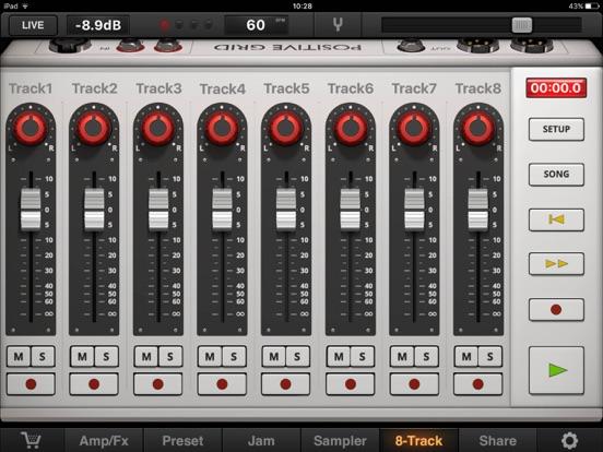 JamUp Pro Screenshots