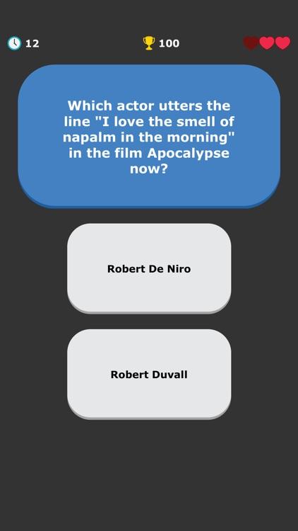 Movies Quiz - Quotes Trivia screenshot-9