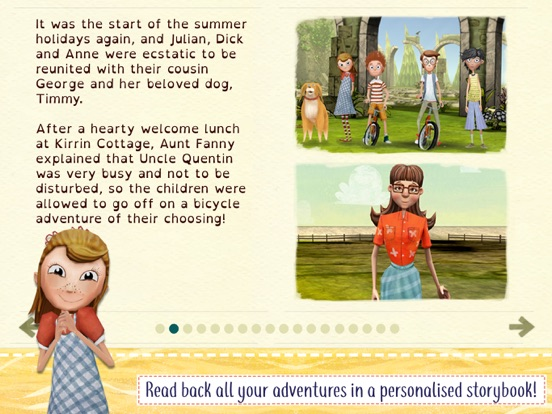 The Famous Five Adventure Game screenshot 5