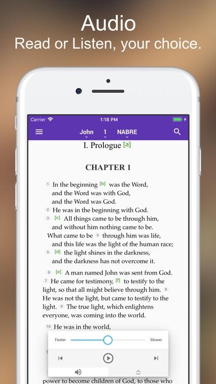 Catholic Bible screenshot-3