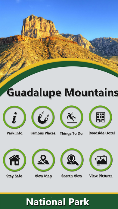 Guadalupe Mountains - N.Park screenshot two