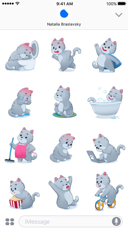 Smokey The Cat Stickers screenshot-3