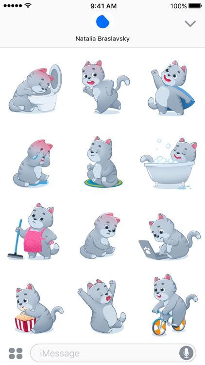 Smokey The Cat Stickers screenshot-3