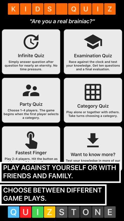 Kids Trivia Quiz