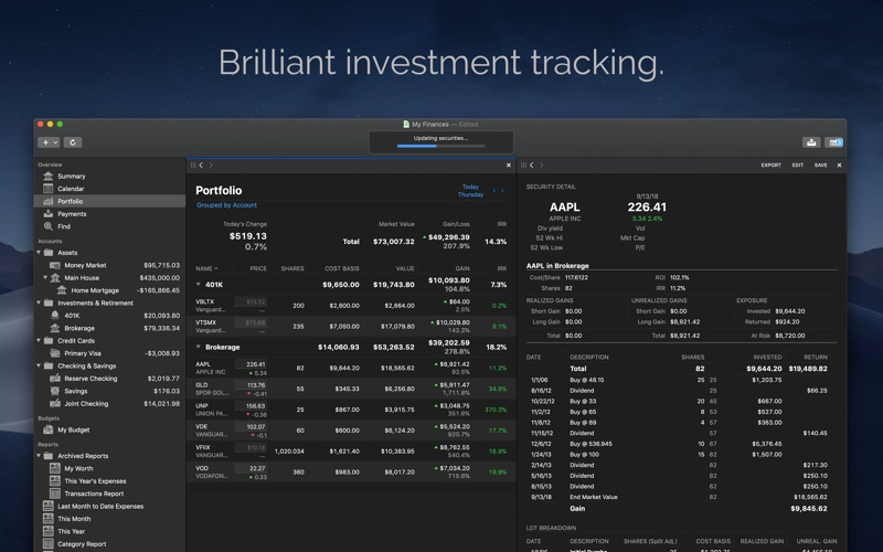Banktivity Screenshot - 10