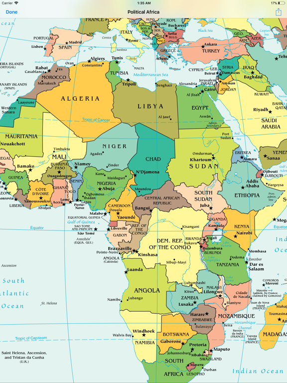 World Maps — Offline Atlasのおすすめ画像2