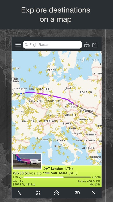Flight Tracker - Online Status Screenshot 3