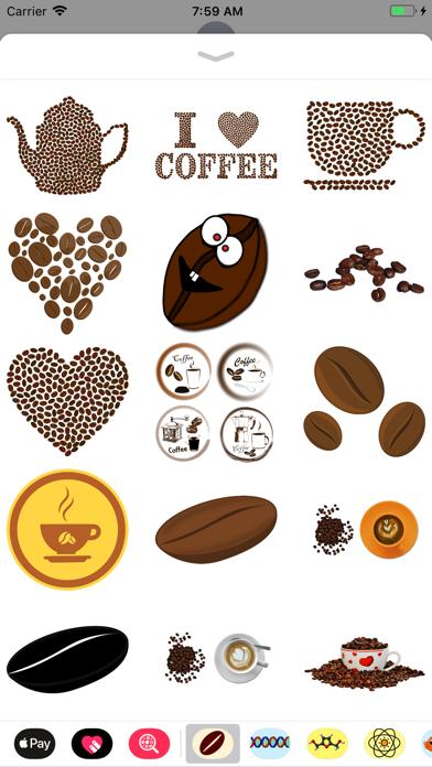 点击获取Coffee Bean Stickers