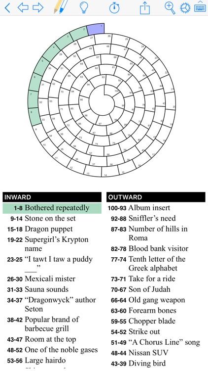 Puzzazz Crossword & Puzzle screenshot-4