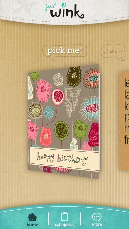 justWink Greeting Cards screenshot-0