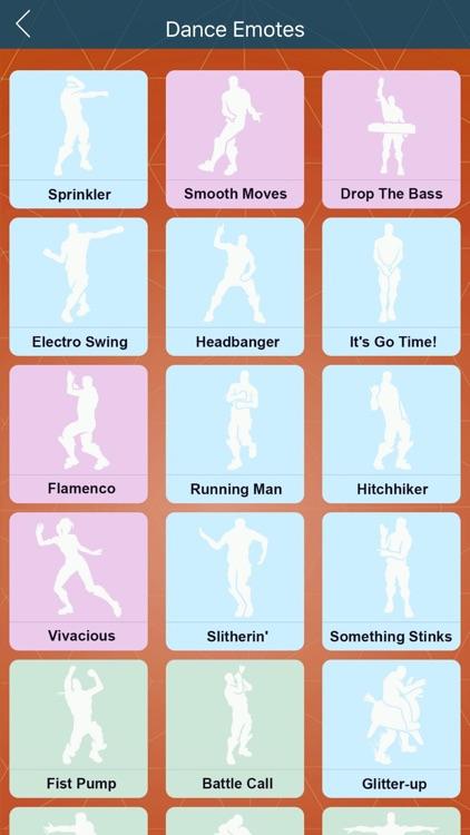 EMOTE for FORTNITE DANCES