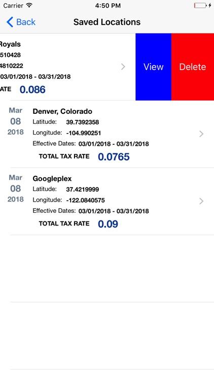 Streamline Sales Tax Rates screenshot-6