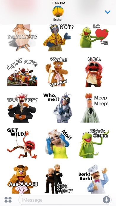 Disney Stickers: Muppets