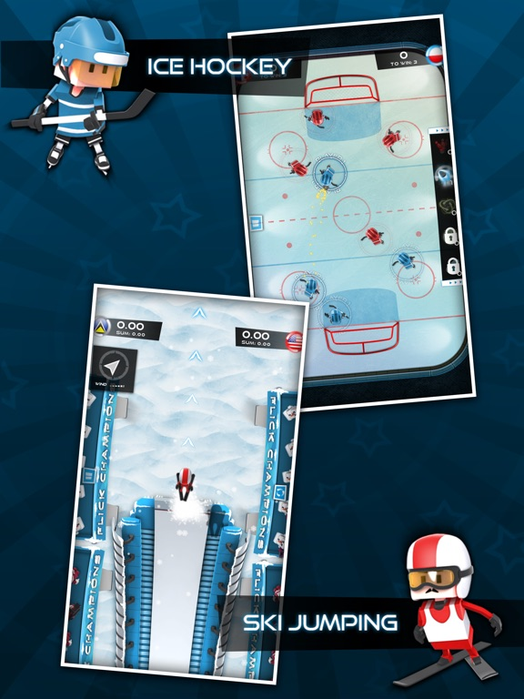 Screenshot #2 for Flick Champions Winter Sports