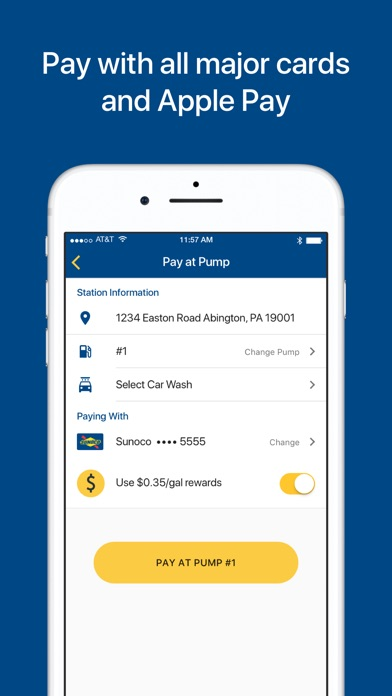 Screenshot for Sunoco in United States App Store