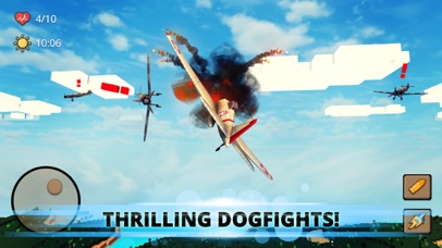 Blocky Warplane: Dogfight War