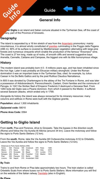 Marine: Isola del Giglio HD - GPS Map Navigator screenshot-3