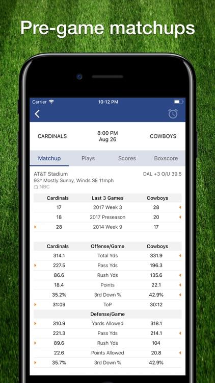 Football Schedule for NFL screenshot-5
