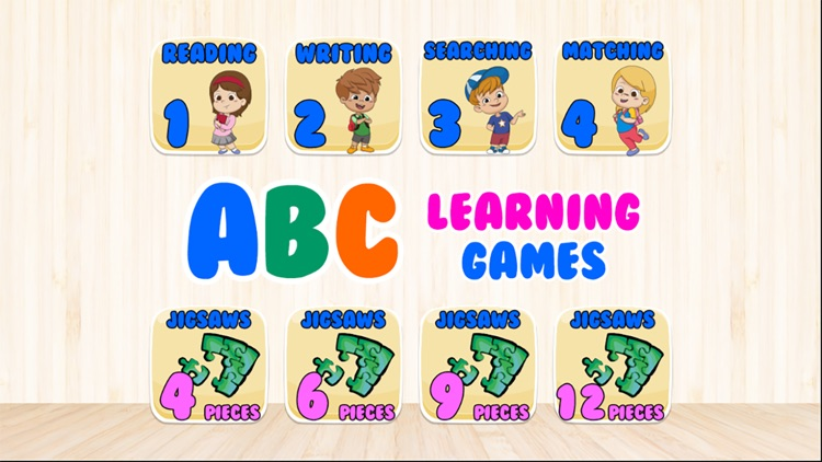 A to Z Jigsaws Learning Games