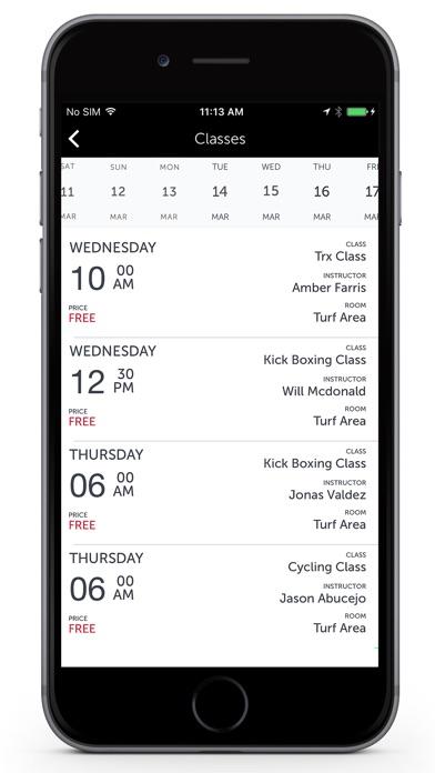 Fitness One app image