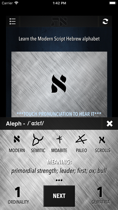 Learn Hebrew - Alphabet | App Price Drops