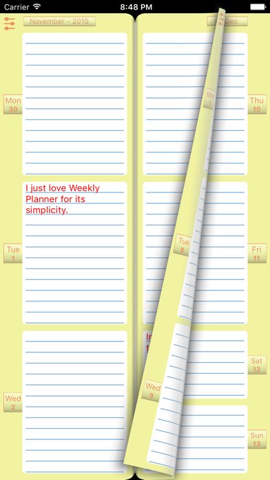 Weekly Planner To Do ListScreenshot of 1