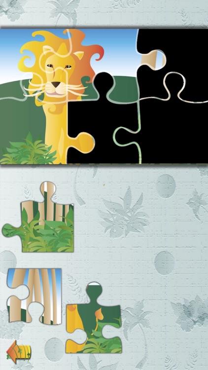 Animal Jigsaw Puzzle:JunglePRO screenshot-0