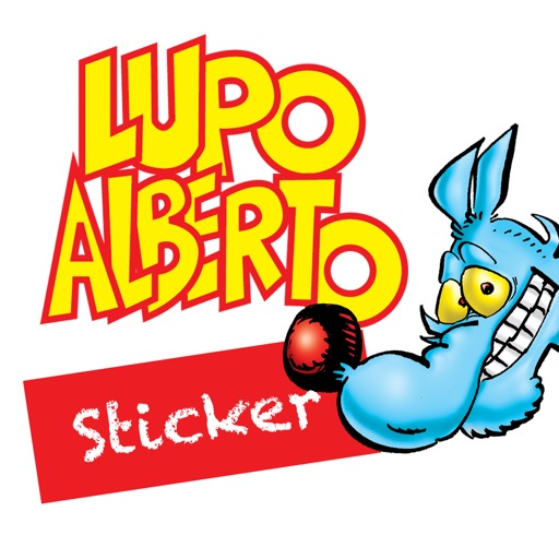 Lupo Alberto Sticker