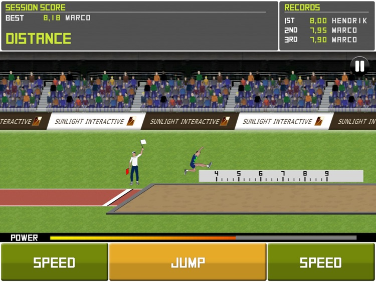 Deluxe Track&Field HD Lite screenshot-1