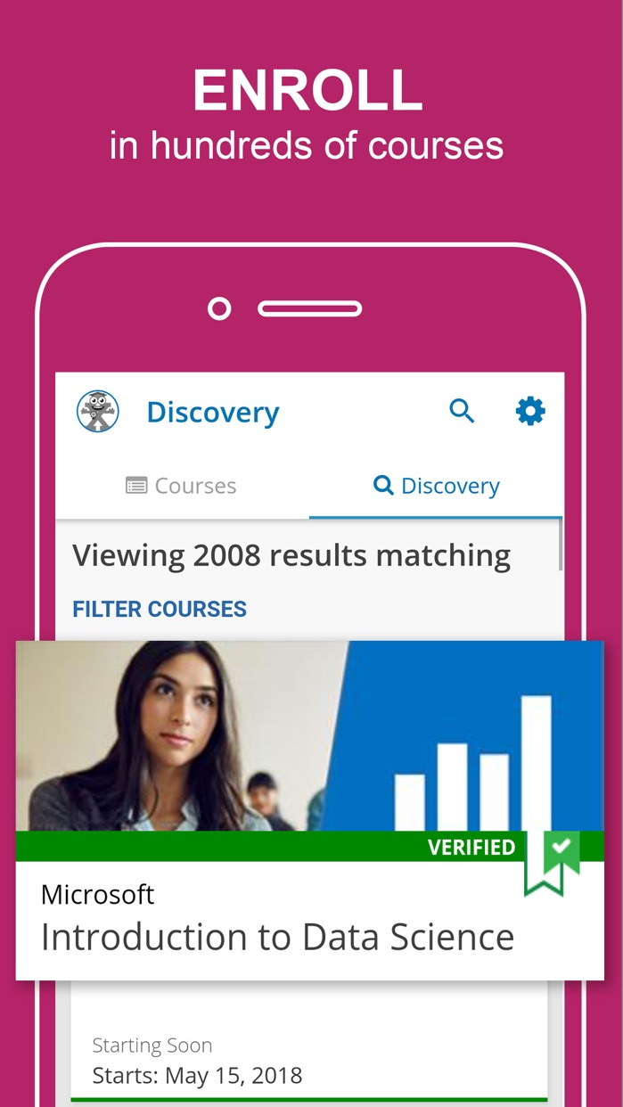 edX: Learn with Online Courses Screenshot