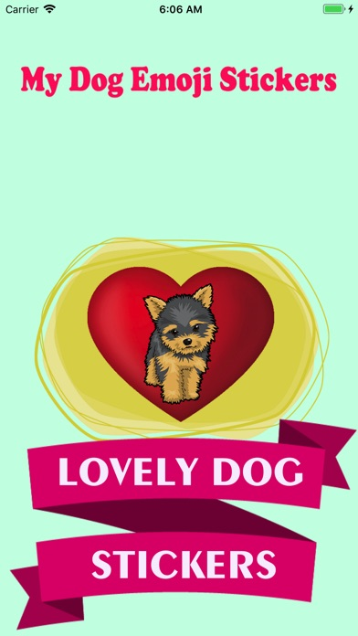 DogMoji -My Dog Emoji Stickers Screenshot