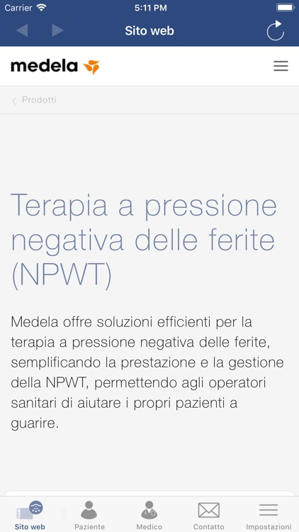 Medela NPWT-IT screenshot-3