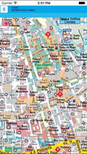 Rome. City map on the App Store