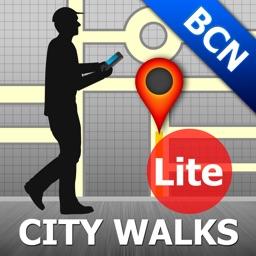 Barcelona Map and Walks